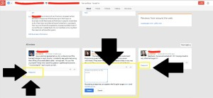 Google Plus Locations Reviews